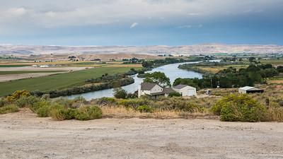 Overlook from old DET 5 1CEVG Wilder, Idaho
