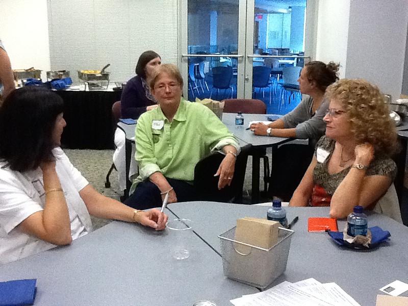 Deb Hunt, Ethel Salonen, Susan Weiler