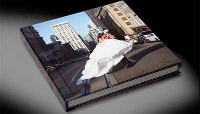Full Wrap Photo Cover with a Lustre, Metallic, or Canvas Surface and Satin or Glossy Laminate.