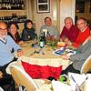 Foto di una cena prima, per includere i quattro amici che non c'erano ai Tri S.