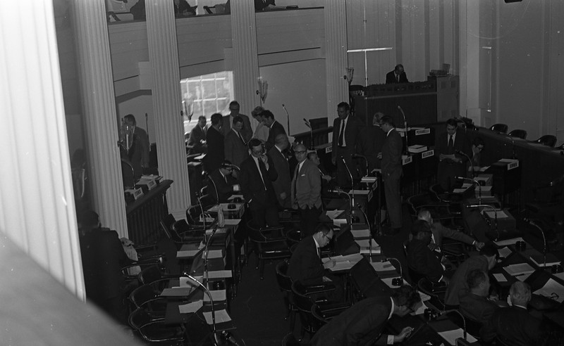Delegates to the Illinois Constitutional Convention in Springfield, IL  (1970)