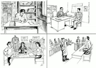Illustrations - Lawyering Skills