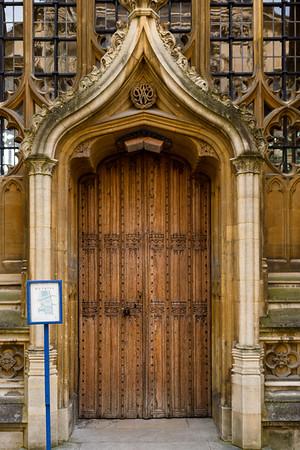 christopher wren door, bodlean