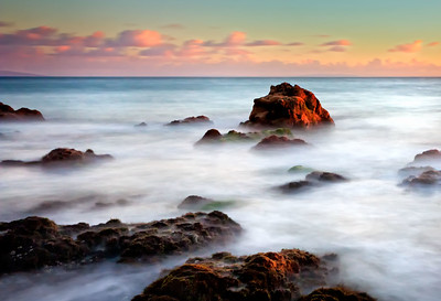 """Heaven's Waves"" Malibu, CA  19"" x 13"" archival print  $600 framed - 24"" x 18"" frame with white mat  $400 unframed print with white mat  Signed & Numbered Limited Edition of 75 of this size"