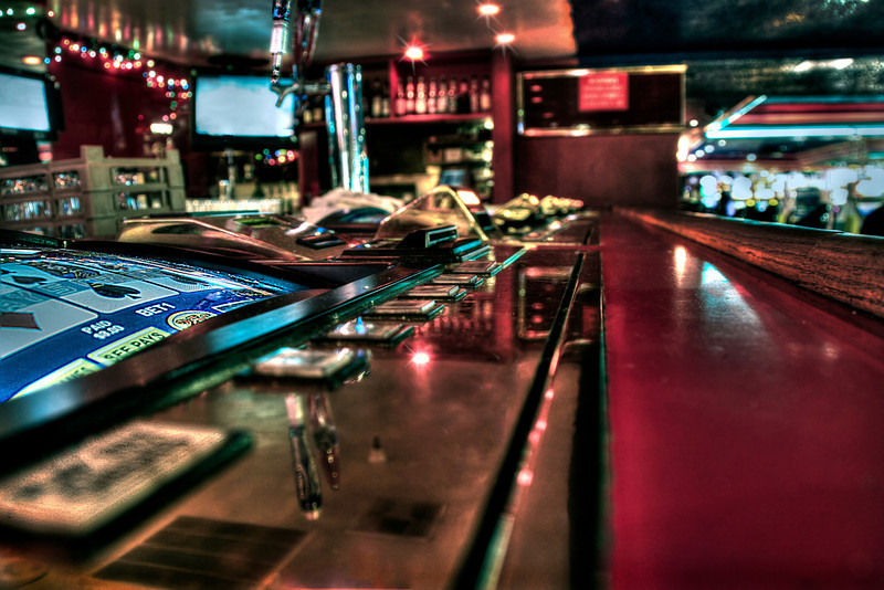 Lucky 4~<br /> <br /> Lonely Casino Lounge in Las Vegas, NV.
