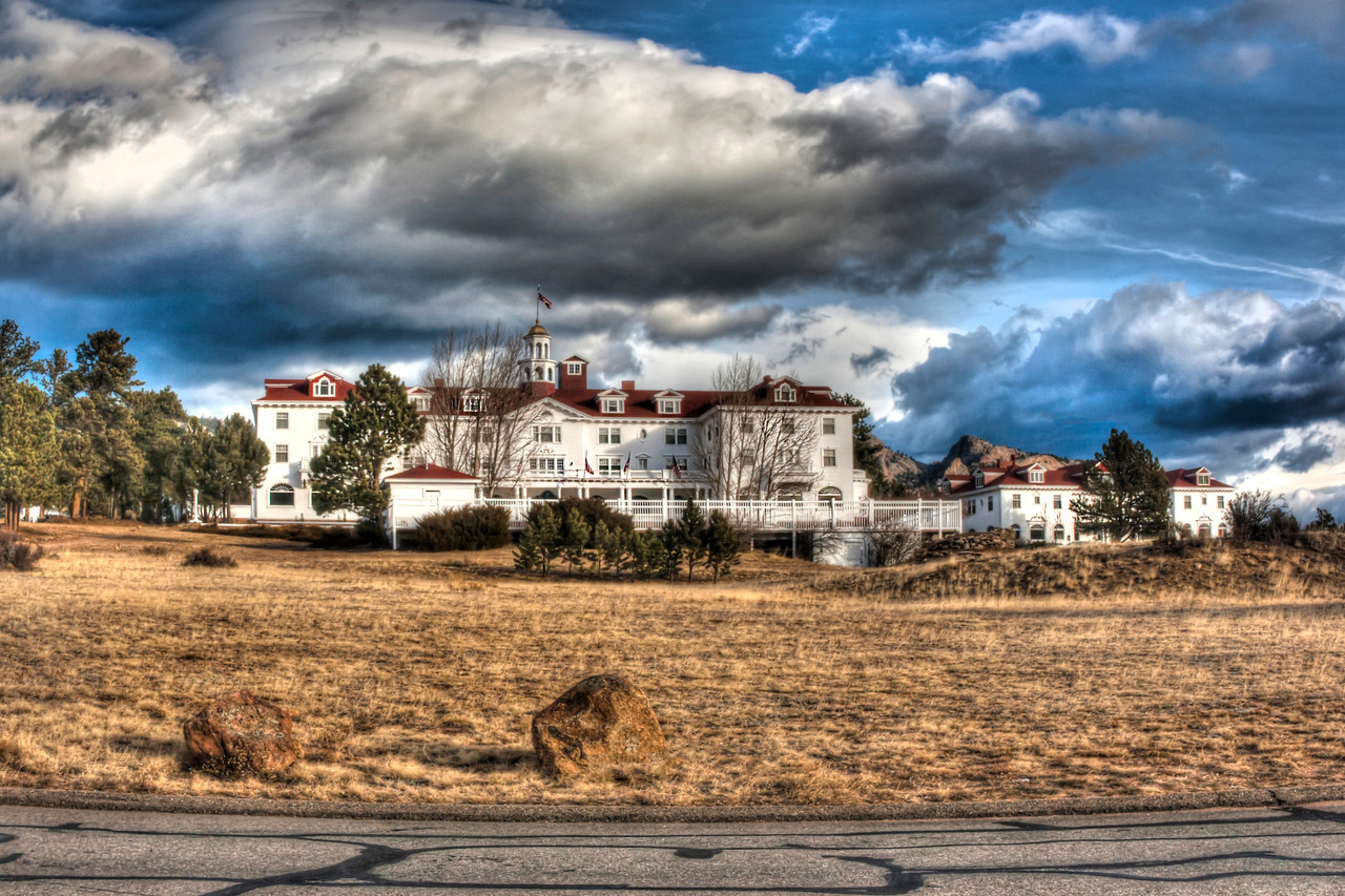 "The Stanley Hotel~<br /> <br /> Stephen King's inspiration for ""The Shining""<br /> <br /> The beautiful, Iconic hotel in Estes Park, CO."