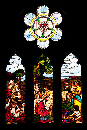 Immanuel Lutheran Stained Glass