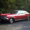 Another blurry photo of my first Impala, Summer 1976.