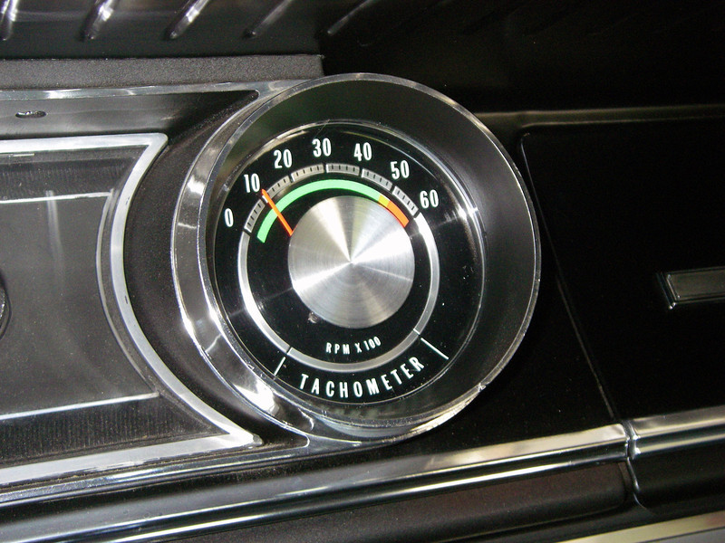 Tach holding steady at 1,000 RPM after repair by H&H Auto Electrical, November 2011.