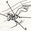 Detail of tailpipe hanger from Assembly Manual.