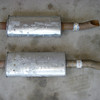 A pair of resonators which I found new, and which I might install one day.