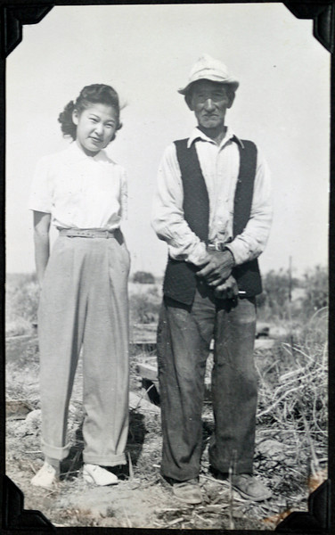 1953 Niland - Tayako Yamasaki and Chomatsu Tamura