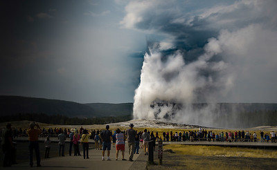 Old Faithful, Yellowstone, Wyoming