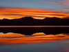 Boulder sunset