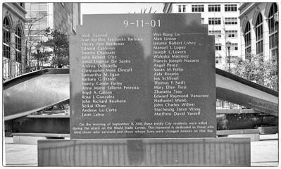 NJ 911 Monument4