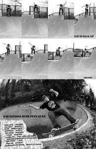 Peter Gunn: 9 Questions: LOWCARD skate zine #28