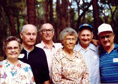 Gladys, Harvey, Cecil, Lelia, Herman, Leroy Ellis