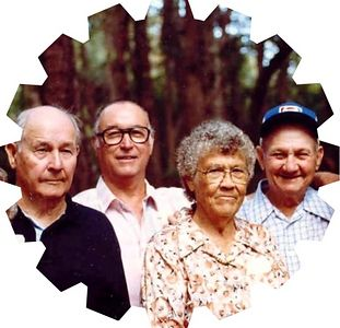 Harvey, Cecil, Lelia, Herman Ellis