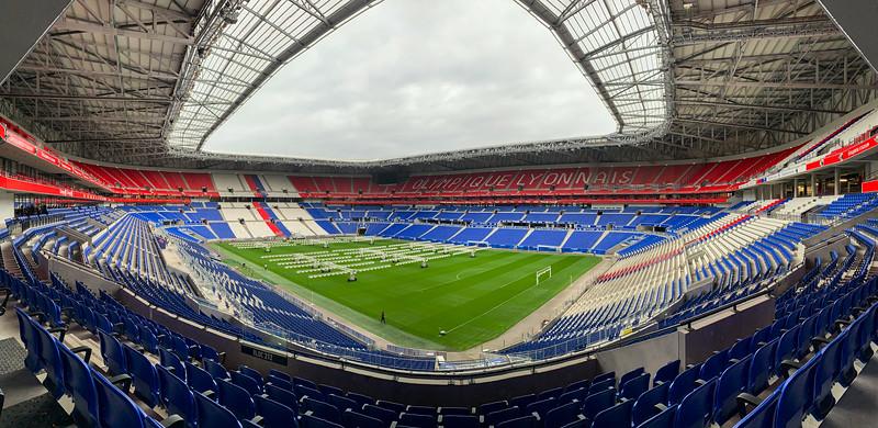 Le Parc Olympique Lyonnais - Groupama Stadium