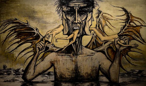 L'enfer de Dante, Lucifer - Bernard Buffet