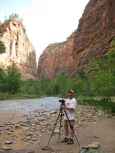 Enjoying Zion National Park in all its beauty. Utah is such a wonderful place.