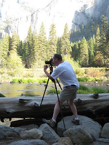 Merced River in Yosemite National Park.