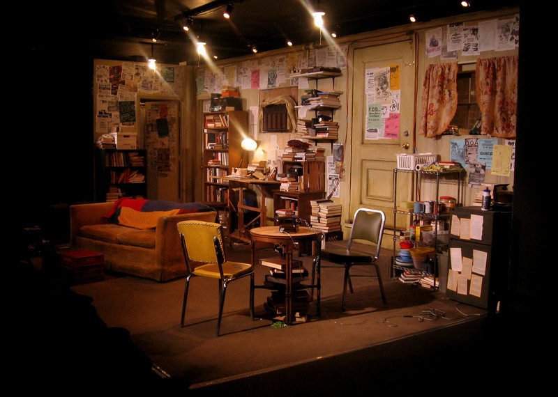 "<h2>THE MEEK (A Red Orchid Theatre)</h2> <h4>""a shabby, slacker-chic hovel by set designer Courtney O'Neill"" –Daily Herald  <br>""with an amusingly detailed set by Courtney O'Neill"" –Chicago Sun-Times  <br>""Courtney O'Neill's grimy set"" –TimeOut Chicago  <br>""A Red Orchid gives the work a hyper-realistic setting from designer Courtney O'Neill."" –Chicago Tribune </h4>"