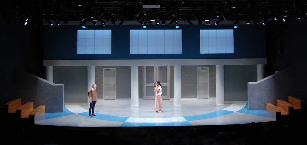 "<h2>THE BURIALS (Steppenwolf Theatre)</h2> <br><h4> ""<strong>a deceptively simple but highly effective setting from Courtney O'Neill</strong>"" --Chicago Tribune</h4>"
