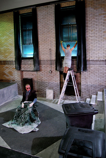 "<h2> ENDGAME (Red Tape Theatre Company</h2> <br><h4>""The <strong>smart set design</strong> alone comprises a lesson in technical theater"" -New City Chicago</h4>"