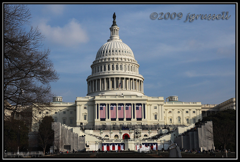 The Capitol all dressed up