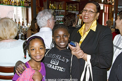 Commonwealth Seminar Inauguration Watch Party on January 20, 2009.  Photo Credit:  Rodger Kingston