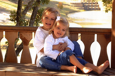 Conner and Grace Olson, Todd & Jenny Olson's children.