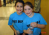 "Rachel and Olivia after a ""Just Skip It"" event for ESD."