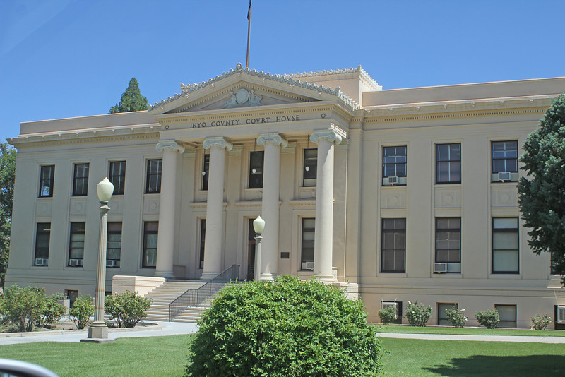 8/15/11 Court House, Independence, Eastern Sierras, Inyo County, CA