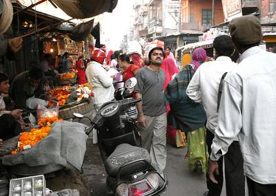 street scene.  jodhpur, rajasthan