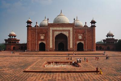 West wing of the Taj Mahal