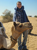 me and hero the camel