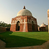 Near the ruins of Tughlaqabad Fort in Delhi lies this serene mausoleum belonging to the fort's builder, the emperor Ghiyath al-Din Tughluq from the 14th century
