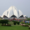 The Lotus Temple in Delhi - an important center of the Baha'i faith