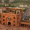 The main gate of the Jama Masjid, Delhi
