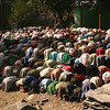 Community prayers are an important part of religious life for Muslim men