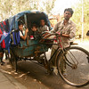 Local schoolbus, Chandigarh, India