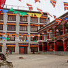 We were surprised to discover that the monastery's annual festival happened to be on the day we arrived. We enjoyed watching the festival along with hundreds of other spectators (mostly Ladakhis), but we didn't understand much of what was going on.