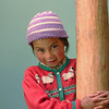 A shy Ladakhi girl at our guest house