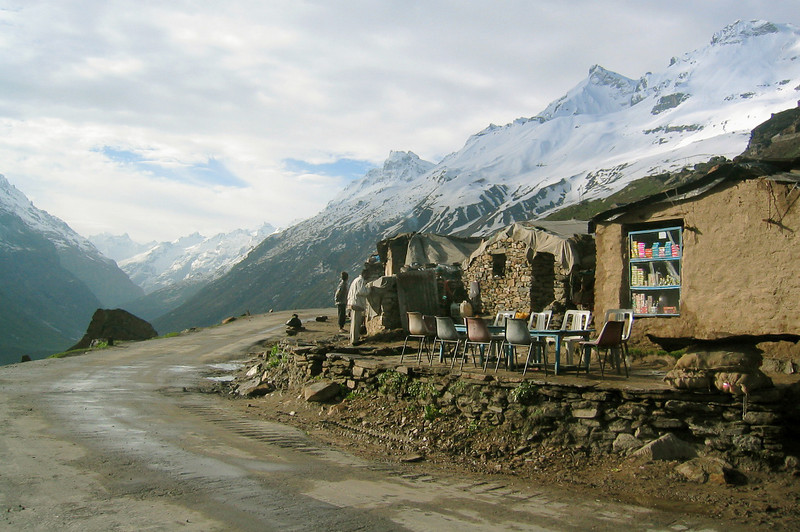 Photo courtesy of Gabe McGann. The owner of this chai shop in Lahaul, Himachal Pradesh was kind enough to let us spend the night.