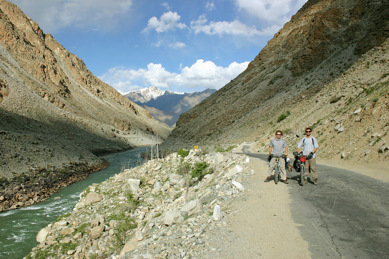 Gabe and me, on the approach to Kargil