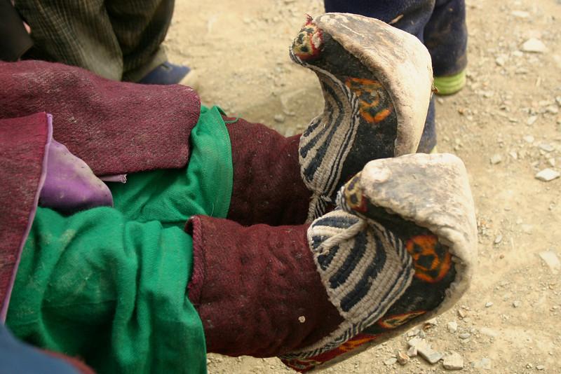 Traditional Ladakhi shoes