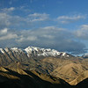 The view from the top of the Namika La, Ladakh