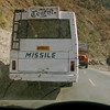 Tourist Missile - I'd hate to be on that bus!