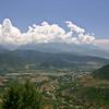 The mountains near Wular Lake, Kashmir